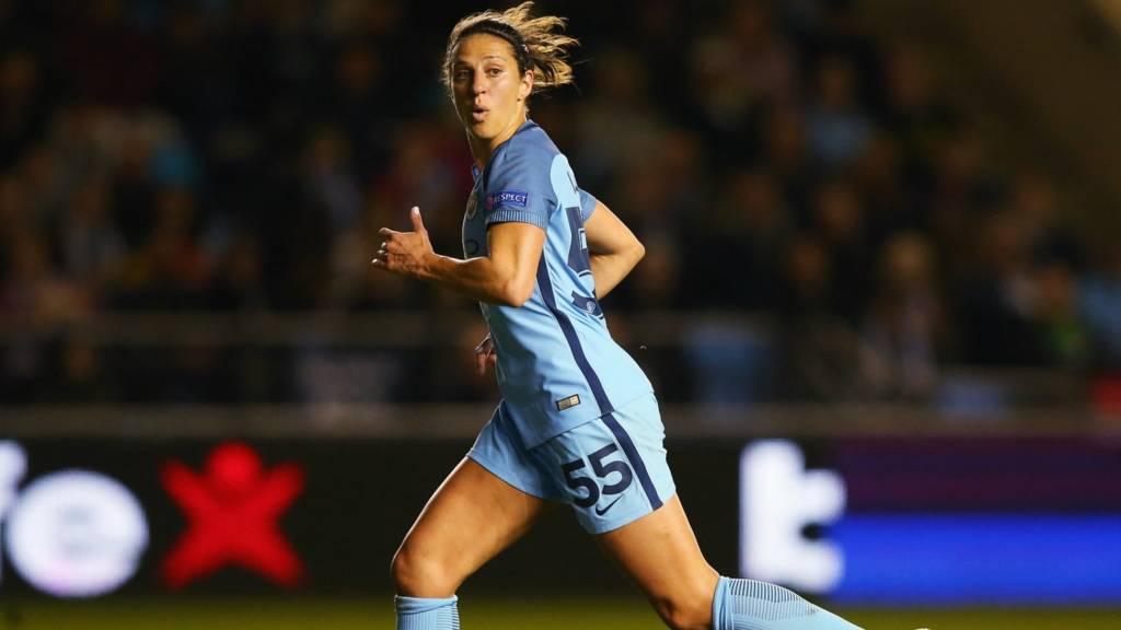 Manchester City's Carli Lloyd