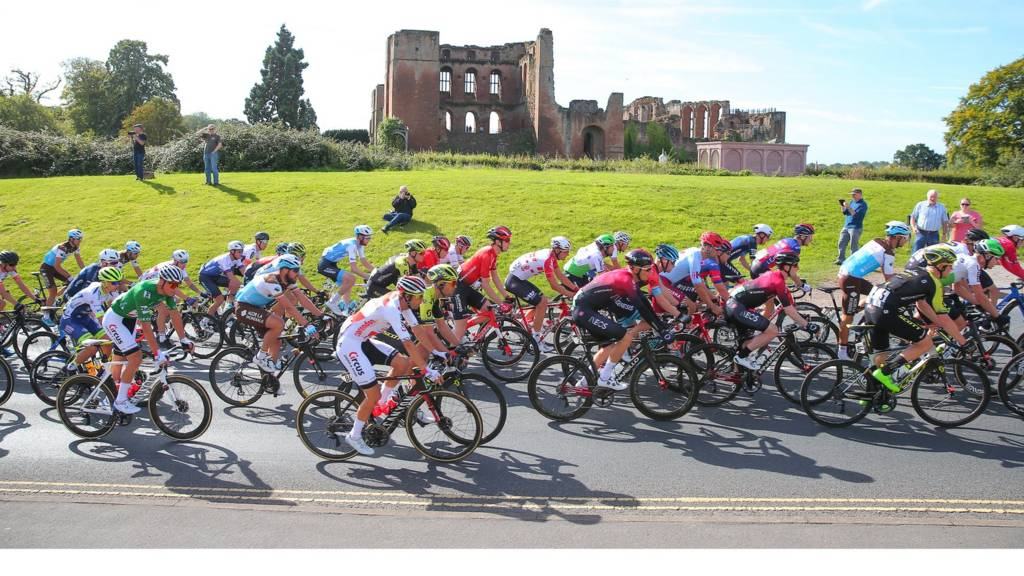 Stage seven of Tour of Britain