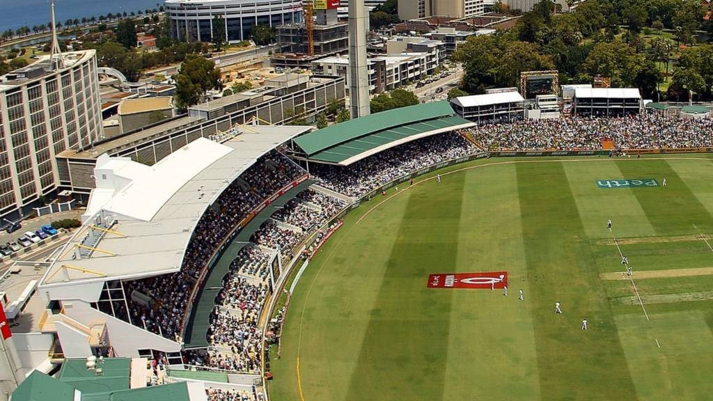 The WACA - home of the first ODI between Australia and India