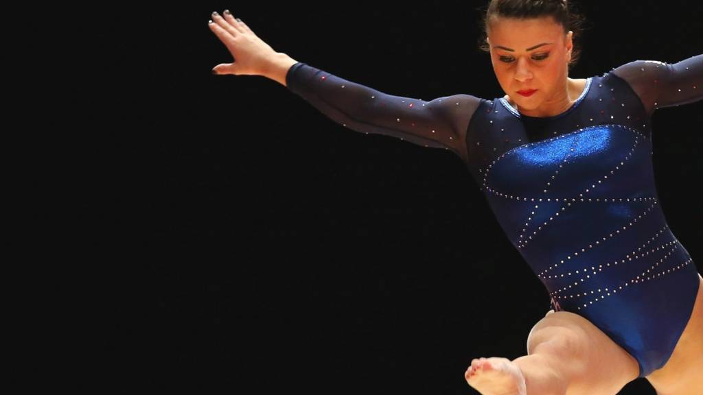Claudia Fragapane of Great Britain