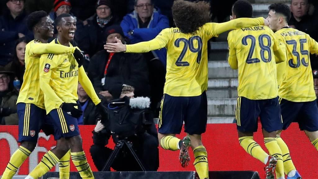 Arsenal score
