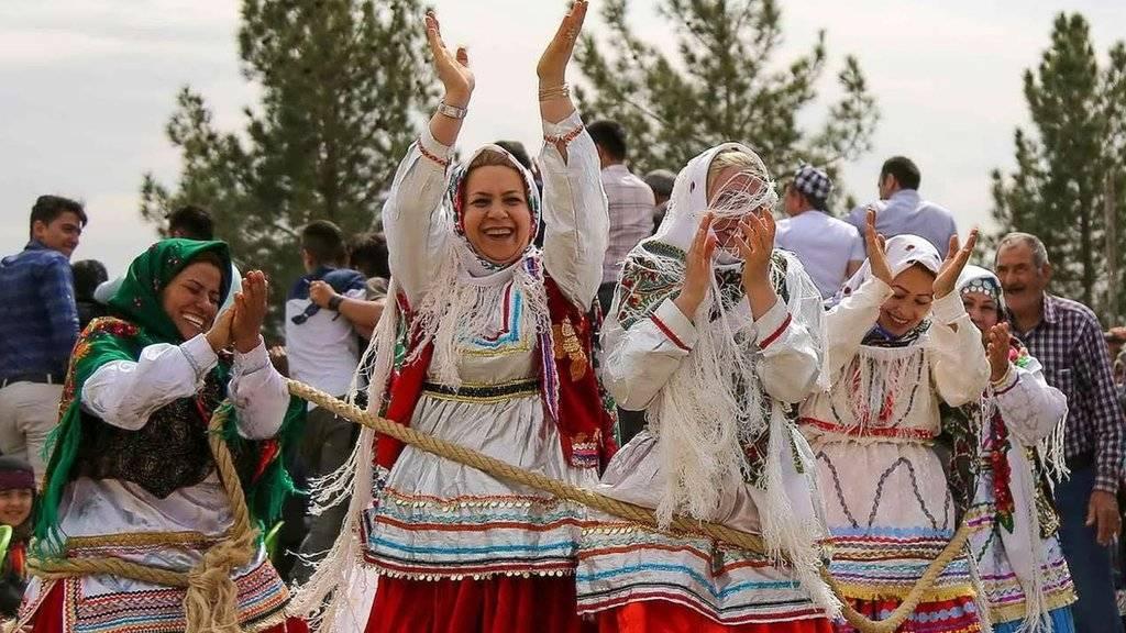 عروسی سنتی در روستای لنگر