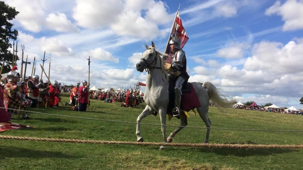 Battle of Bosworth re-enactment