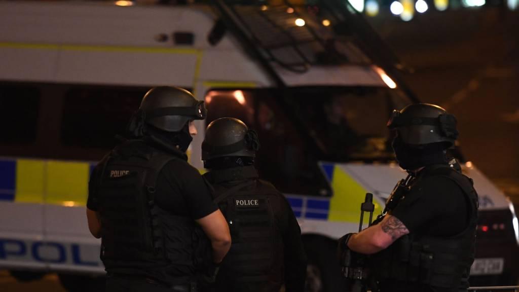 Explosion à Manchester.