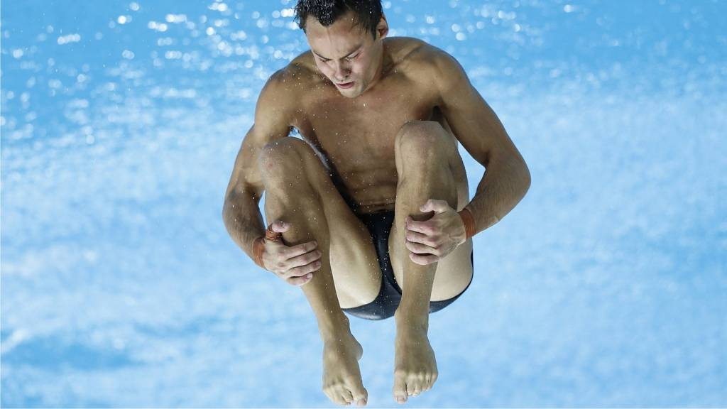 Tom Daley of Great Britain