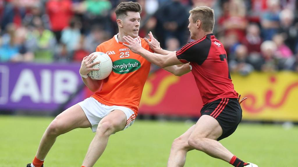 Down v Armagh in the Championship