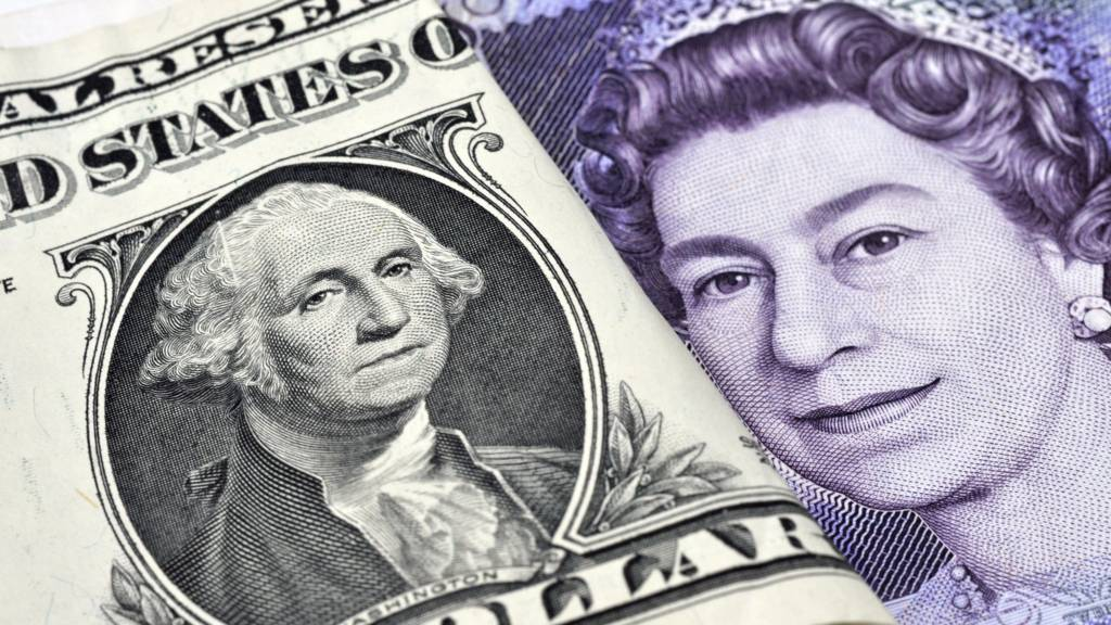 Pound and dollar notes