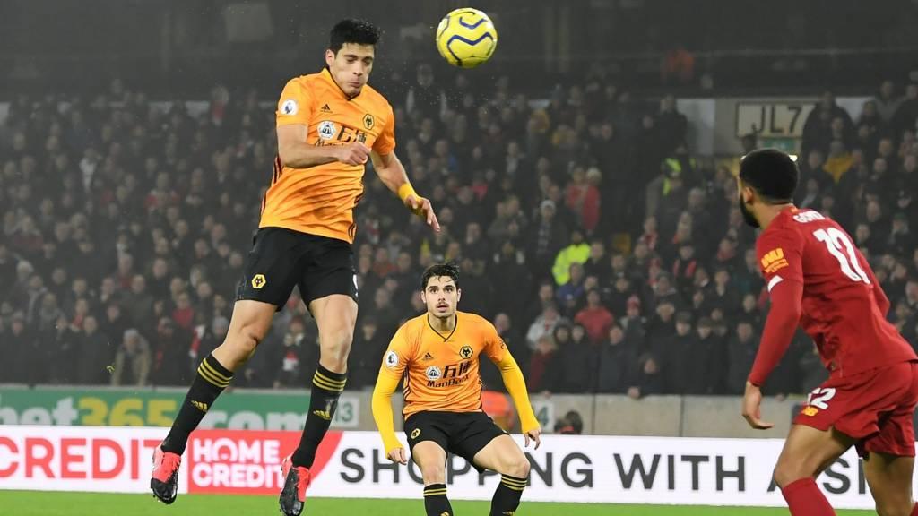 Wolves score