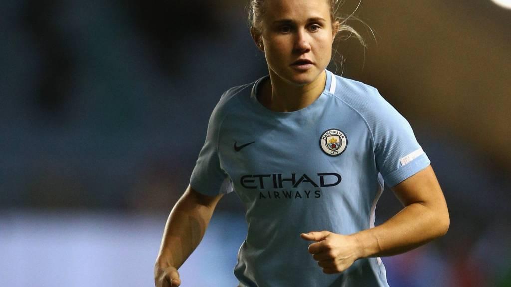 Manchester City's Izzy Christiansen