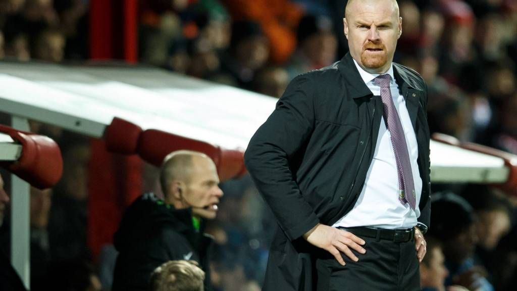 Burnley manager Sean Dyche