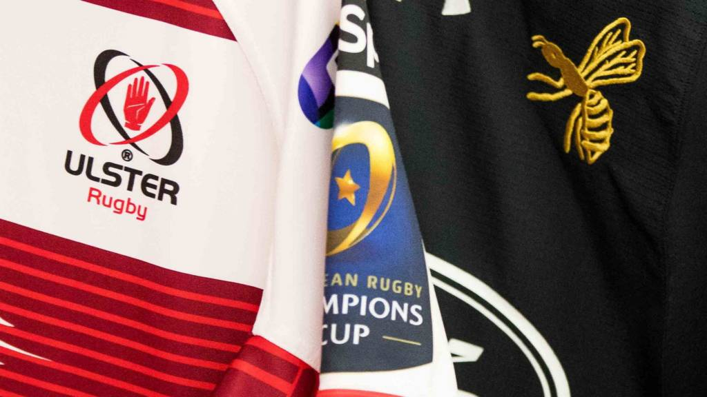 Ulster against Wasps in the Champions Cup