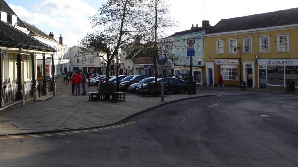 Diss town centre
