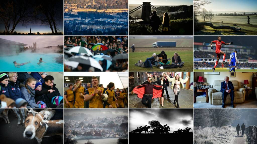 Montage of West Country images