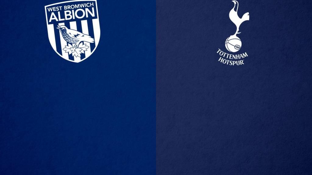 West Brom v Tottenham badge