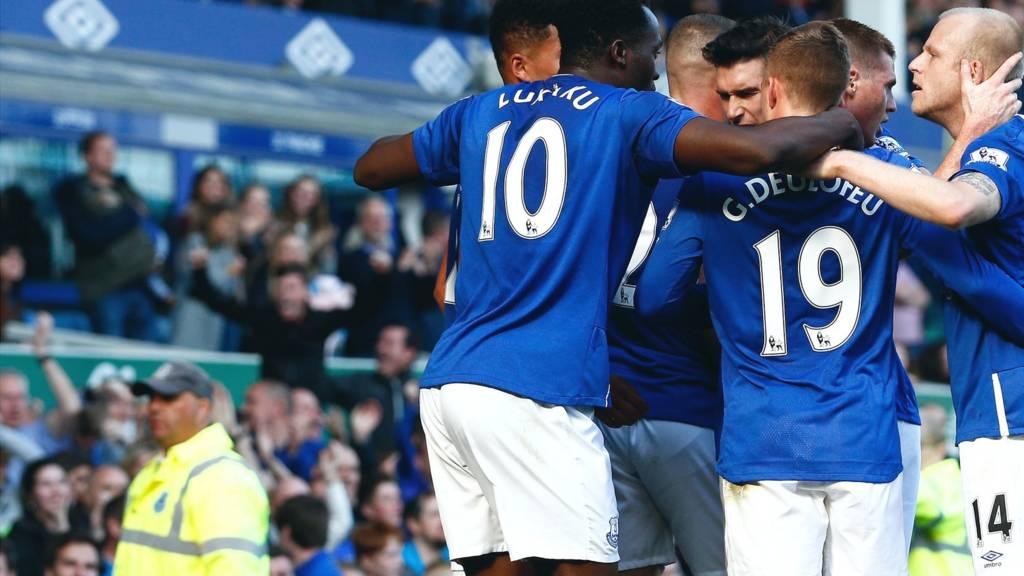 Lukaku celebrates
