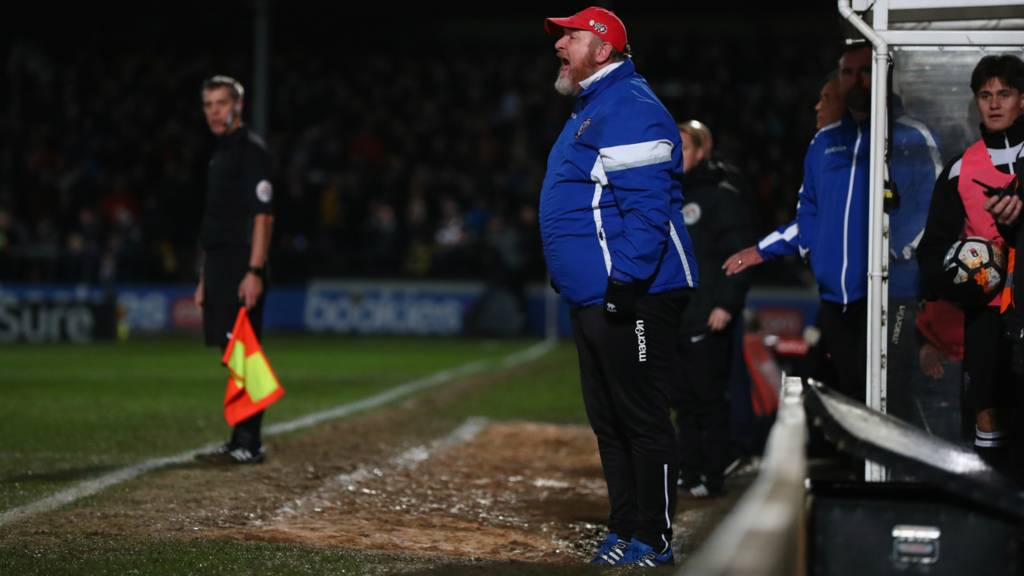 Hereford FC manager