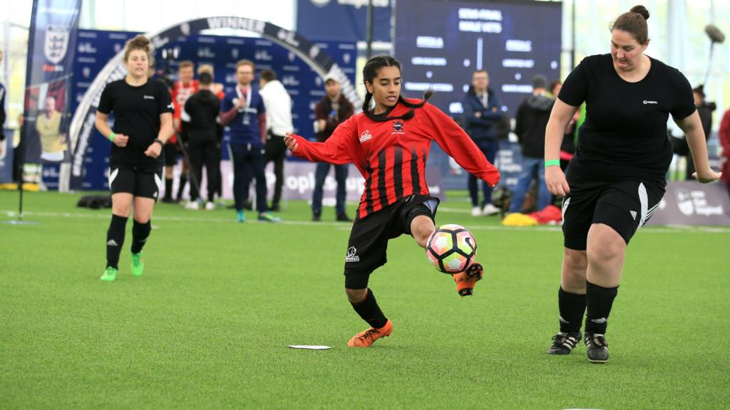 FA People's Cup finals action
