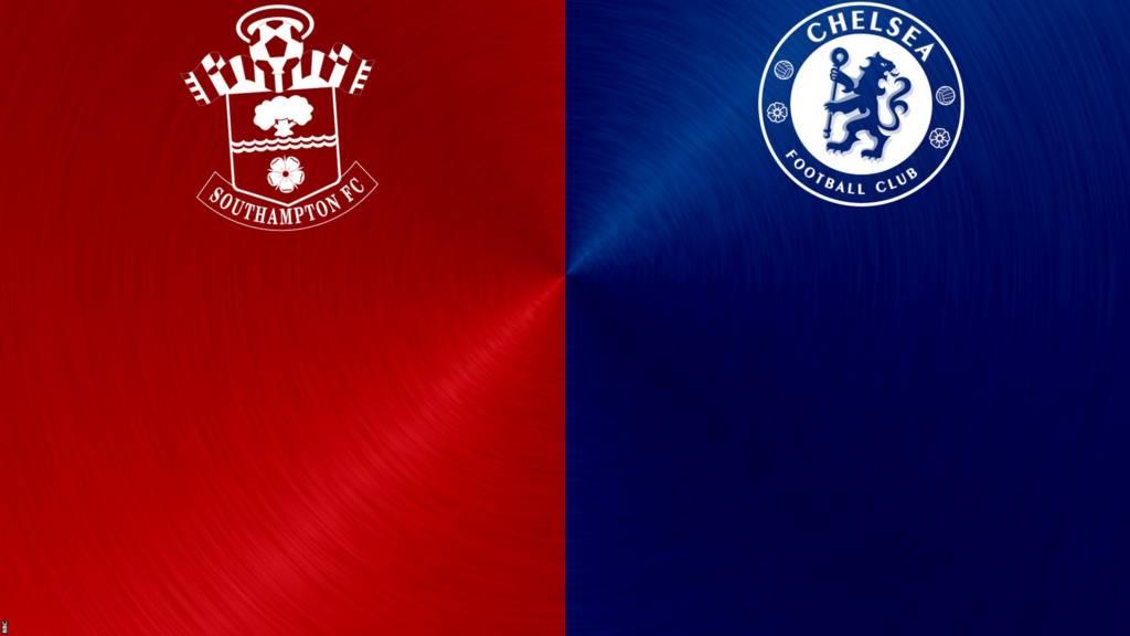 Southampton v Chelsea badges