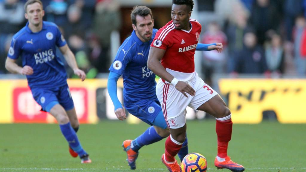 Adama Traore and Christian Fuchs