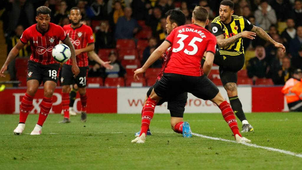 Watford score late goal