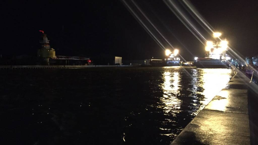 High water in Great Yarmouth