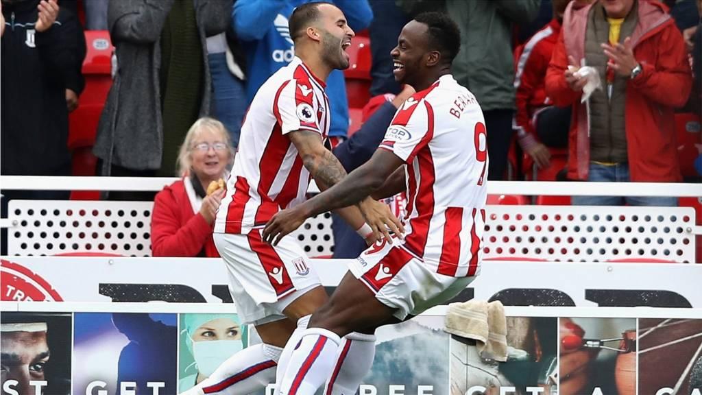 Stoke celebrate