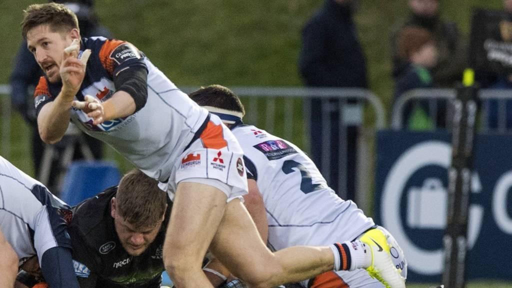 Edinburgh rugby's Henry Pyrgos