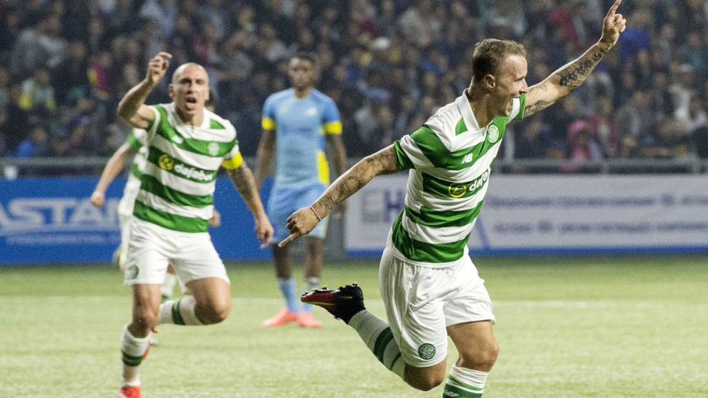 Celtic levelled on 78 minutes
