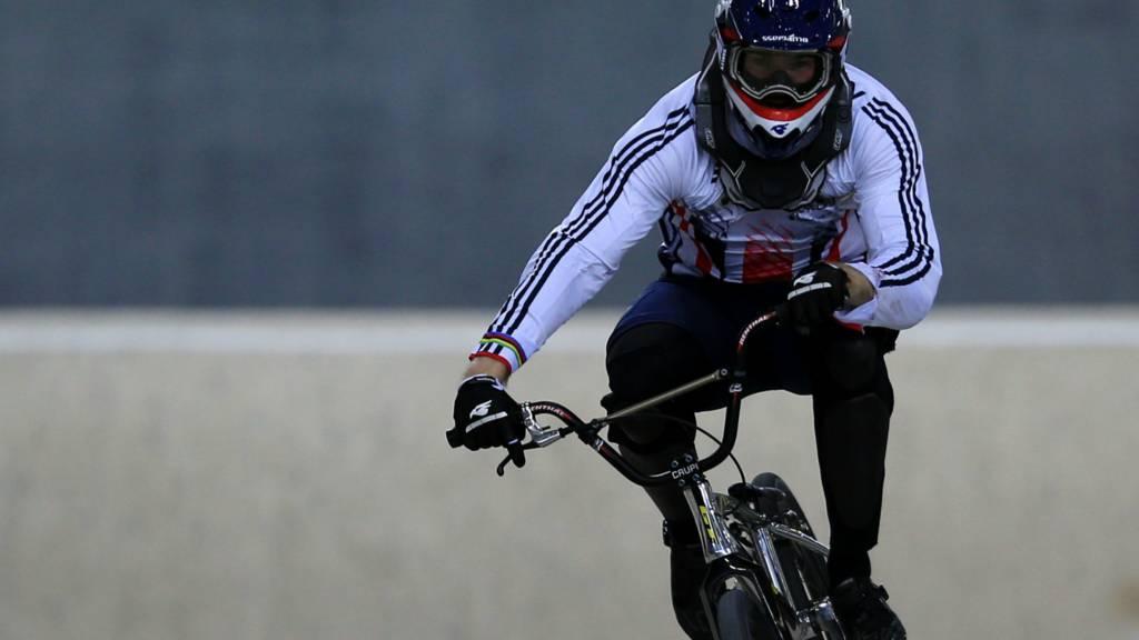 Great Britain BMX rider Liam Phillips