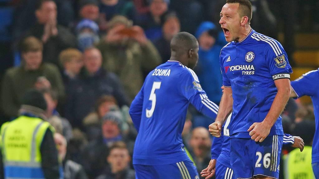 John Terry of Chelsea celebrates