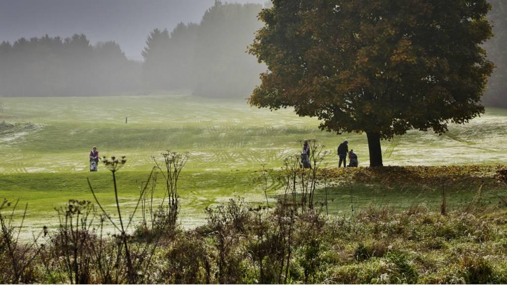 Fog over Redbourn