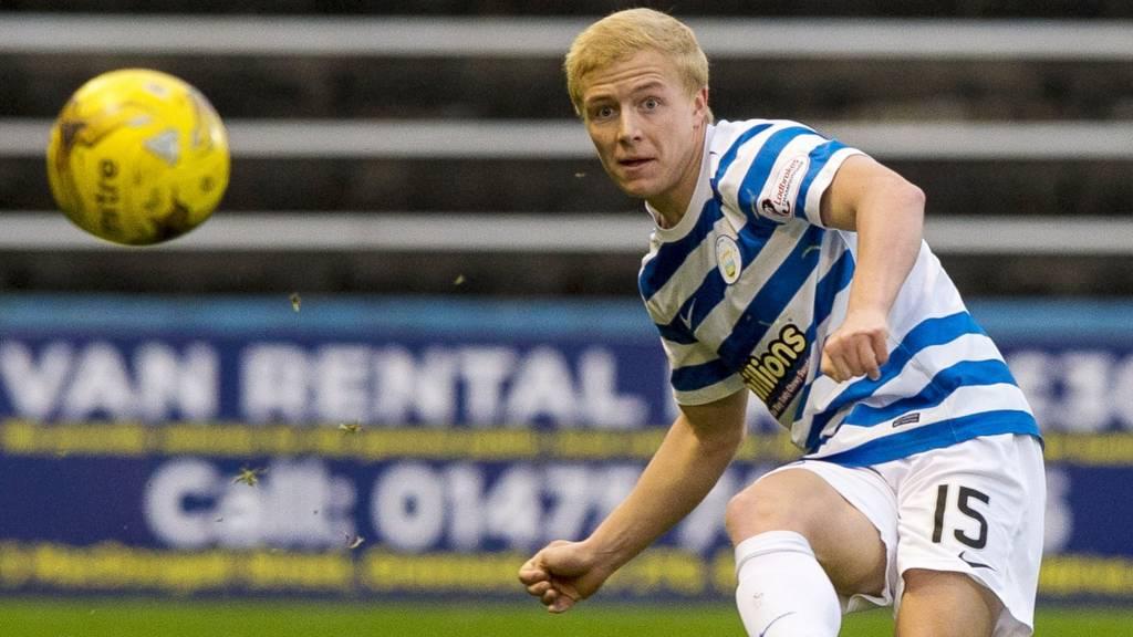 Greenock Morton player Conor Pepper