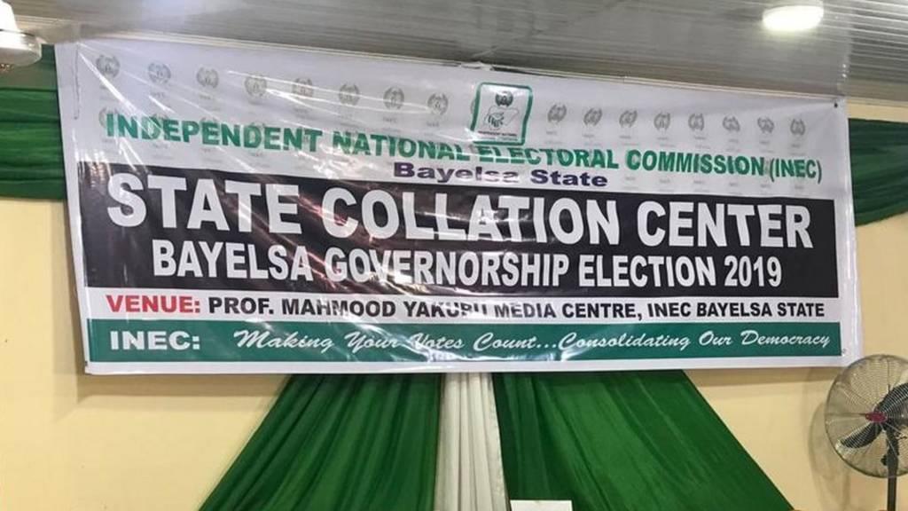 Bayelsa collation centre