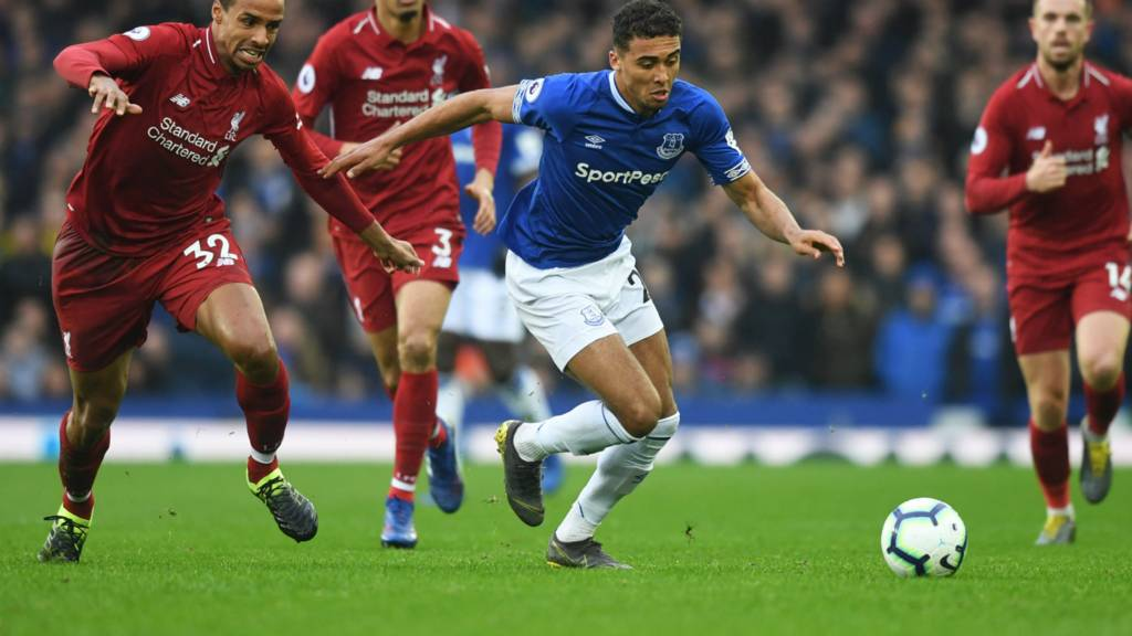 76acb4966a0 Premier League  Best reaction to Everton v Liverpool in Merseyside ...