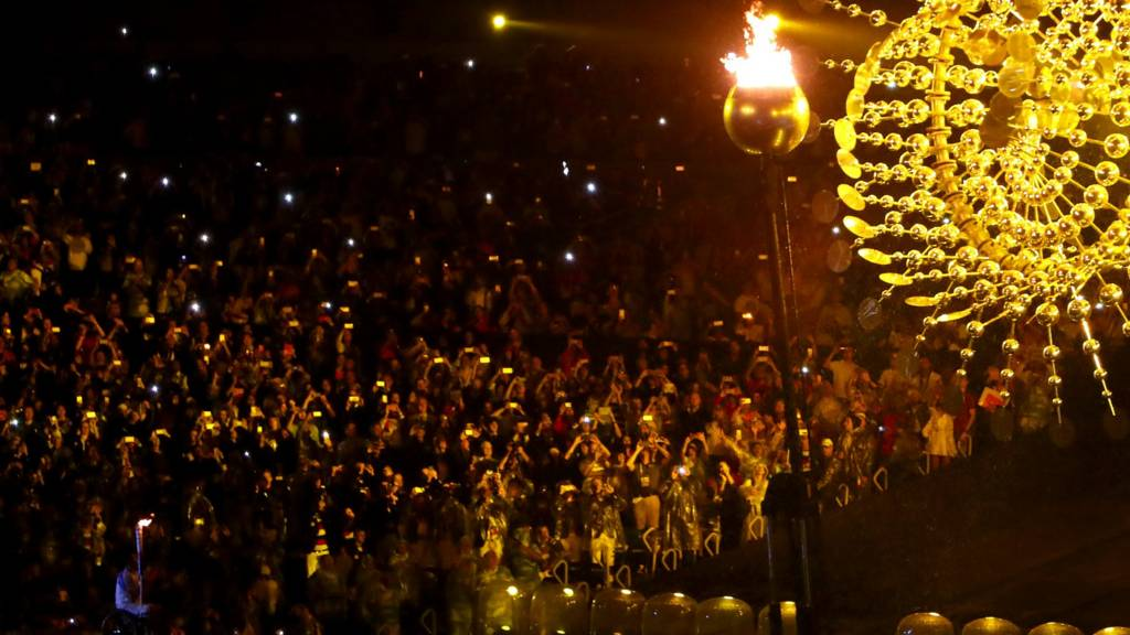 Paralympics Flame