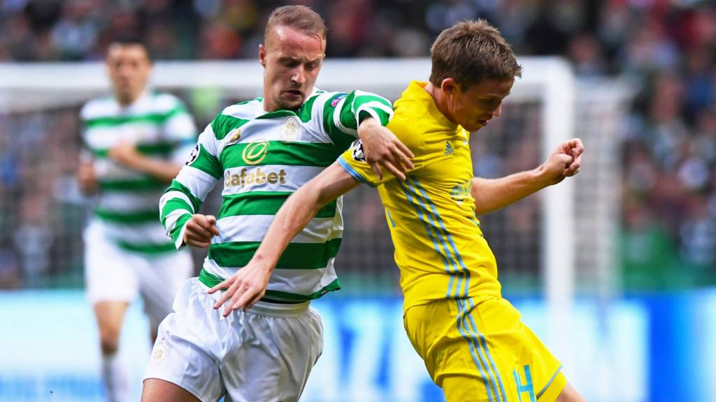 Leigh Griffiths and Marin Tomasov