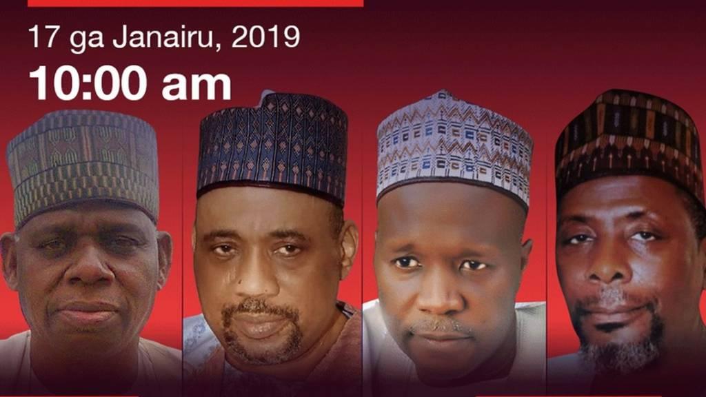 Zaben Najeriya 2019: Yadda aka fafata muhawarar gwamnan