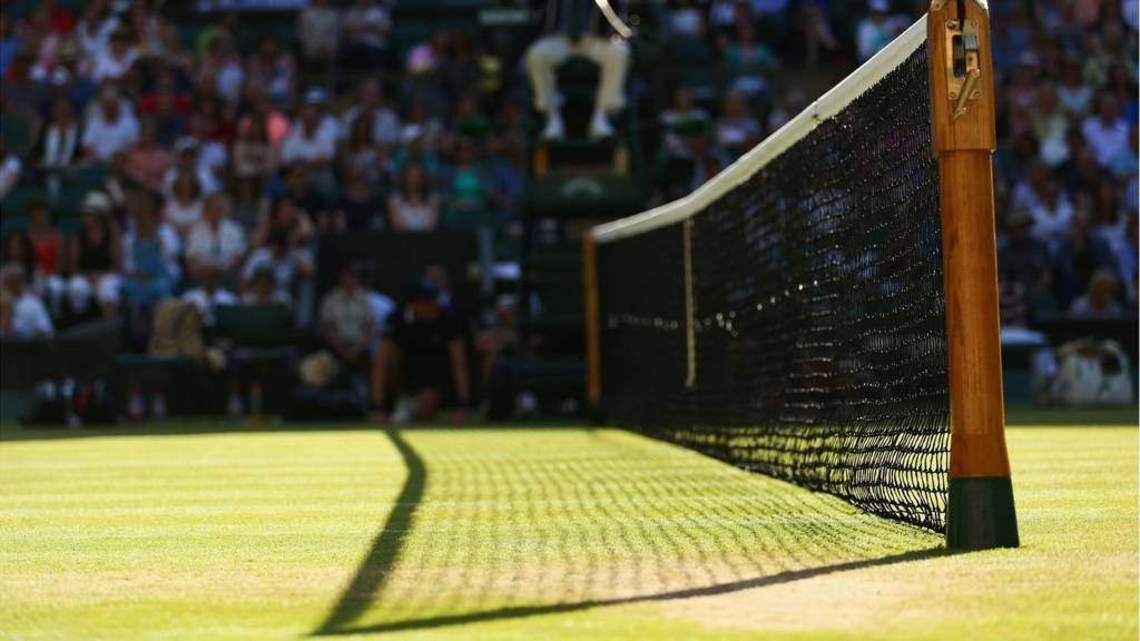 Wimbledon Centre Court net