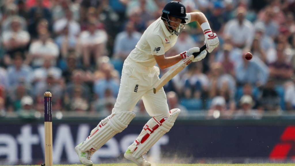 Joe Root in action for England
