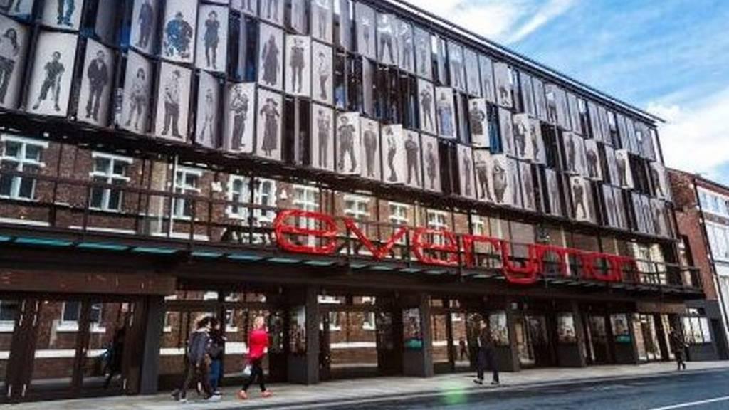 Everyman theatre in Liverpool