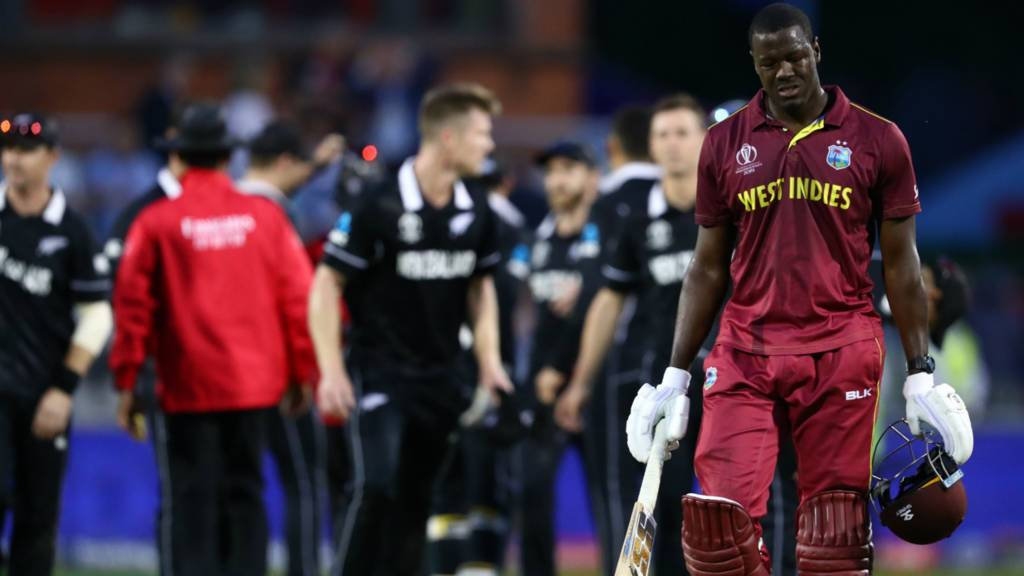 West Indies v New Zealand in the ICC Cricket World Cup - in
