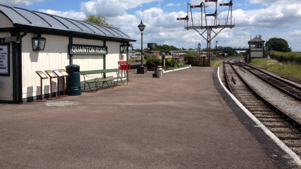 Bucks light railway centre