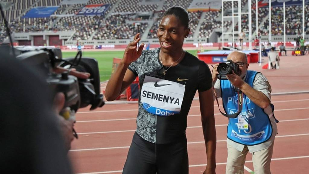Caster Semenya in Doha Diamond League - could it be her
