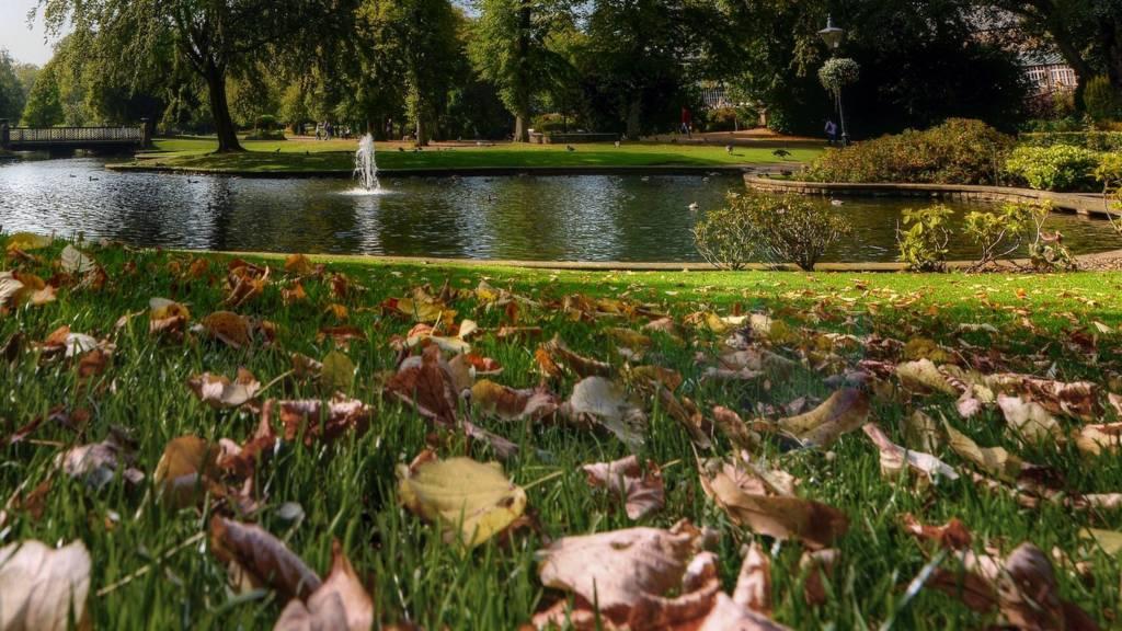 Buxton's Pavilion Gardens