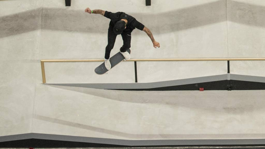 Skater at the Copperbox Arena