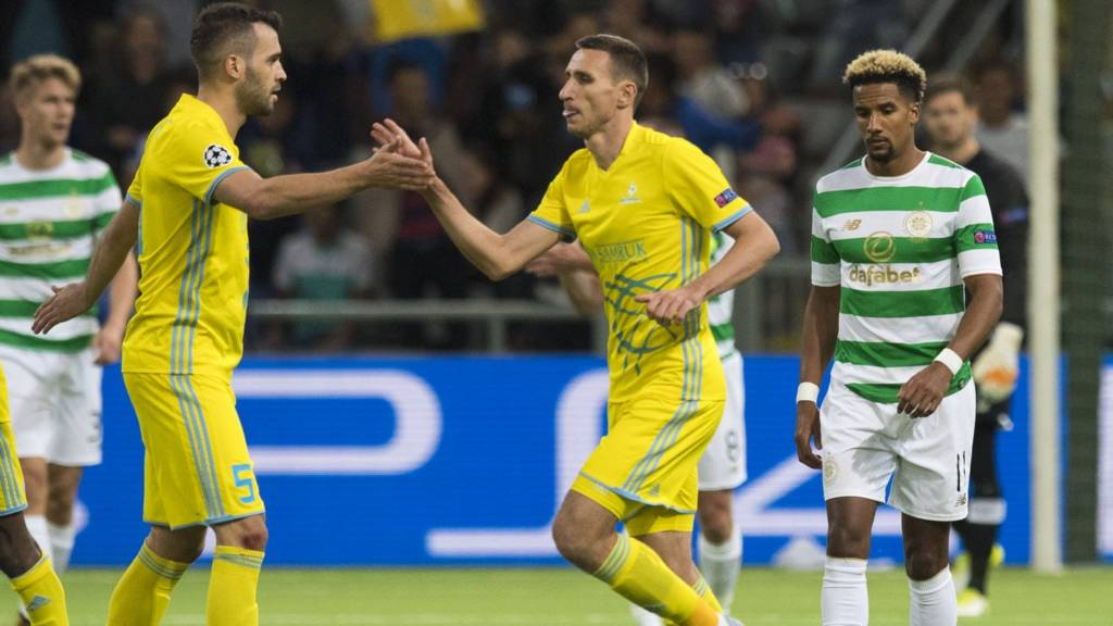 Champions League: Defeat in Astana is 'wake-up call' - James Forrest