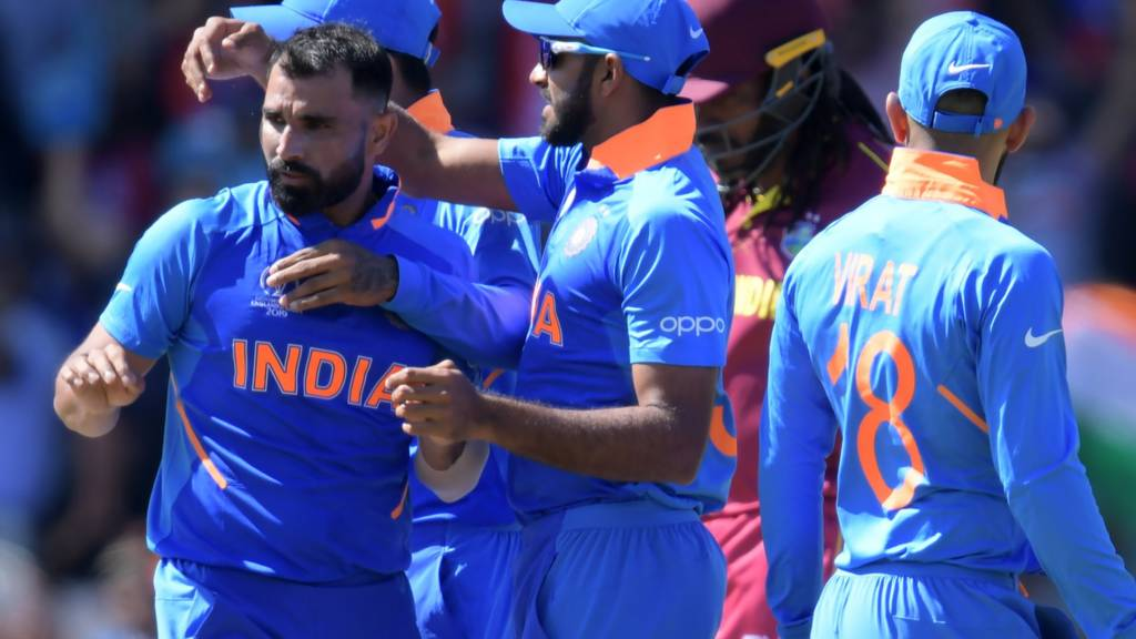 India V West Indies World Cup Cricket Live Today