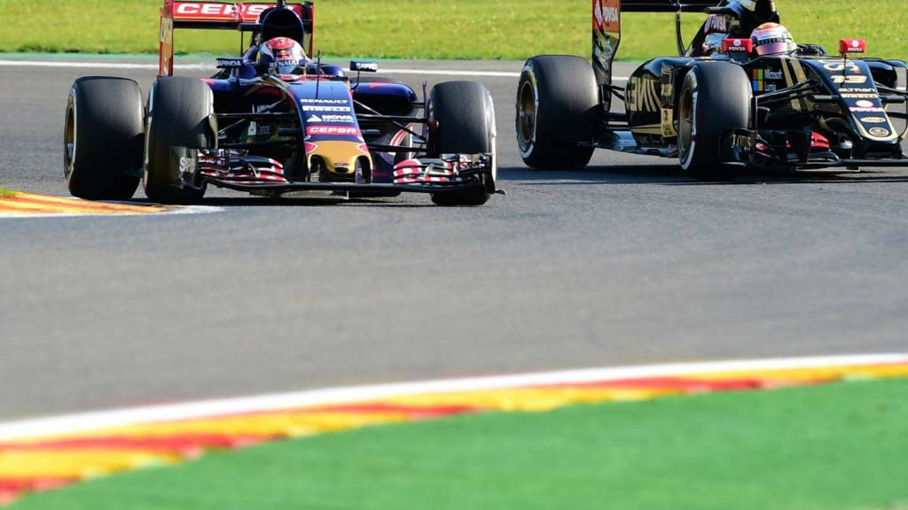 Max Verstappen and Pastor Maldonado