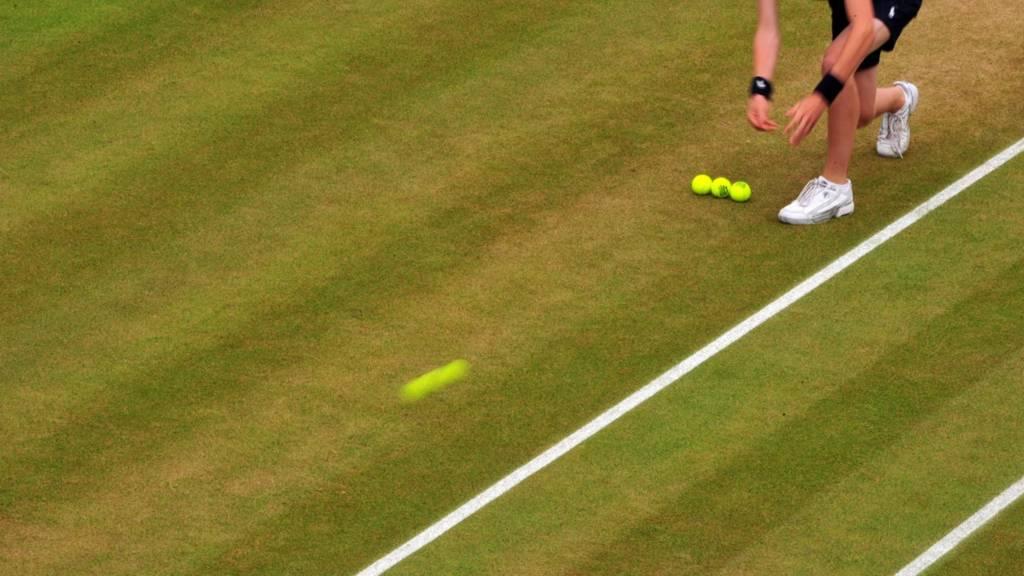 Ball boy at Wimbledon