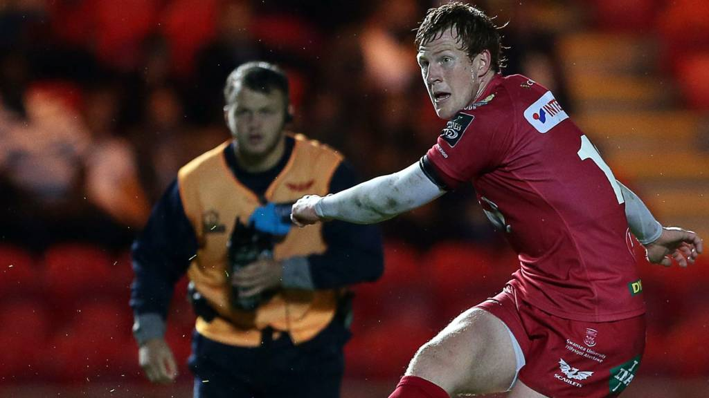 Scarlets' Rhys Patchell